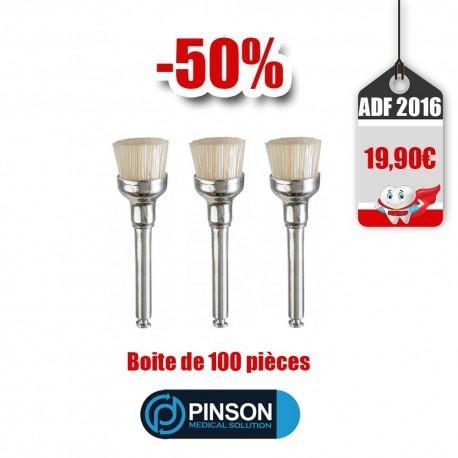 Pinson Brushes 100Pcs