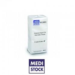 Compresses Gaze Non-Stériles 5x5cm - 100Pcs