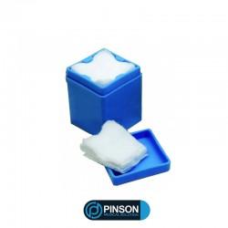 Distributeur de Compresses Bleu
