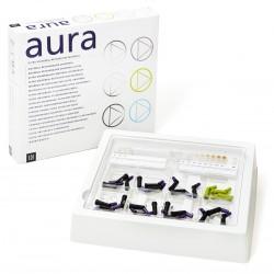 """Aura  Kit d'introduction Capsules 24 x Compules de 0.25g Aura Dentine Chroma (Db. DC1. DC2. DC3. DC4. DC5. DC6. DC7 €"""" 3 each)"""