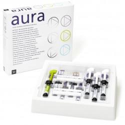 Aura  Kit d'introduction Seringues 8 x Seringues de 4g Dentine Chroma Aura (Db. DC1. DC2. DC3. DC4. DC5. DC6. DC7)